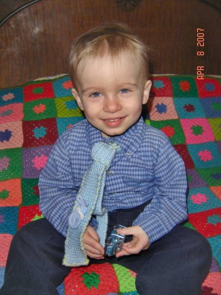 Easter Tie and Pin 2007