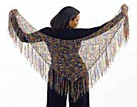 Trellis Triangle Shawl