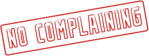 NoComplaining
